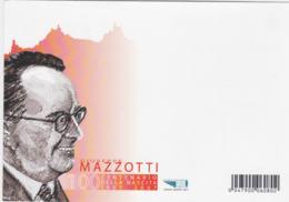 San Marino Postal Stationary 2007 Giuseppe Mazzotti Posted San Marino GP Cinsano San Marino - Motos