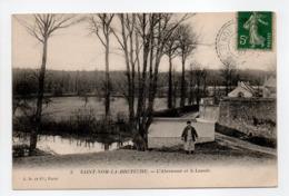 - CPA SAINT-NOM-LA-BRETÈCHE (78) - L'Abreuvoir Et Le Lavoir 1907 - Edition J. D. N° 3 - - St. Nom La Breteche