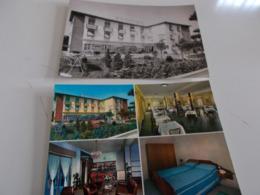 B734  2 Cartoline Marina Di Cecina Livorno Hotel Massimo Non Viaggiate - Italia