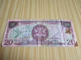 Trinité & Tobago.Billet 20 Dollars 2002. - Trinidad & Tobago