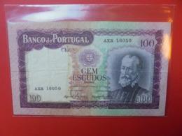 PORTUGAL 100 ESCUDOS 1961 CIRCULER (B.7) - Portugal