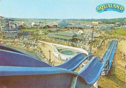 Agde   H200         Le Cap D'Agde. Vue Du Parc Du Haut Du Toboggan Niagara ( Aqualand ) - Agde