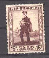 Sarre  :  Yv  342  ** - 1947-56 Protectorate
