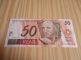 Brésil.Billet 50 Réais. - Brazil
