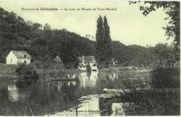 CPA DES ENVIRONS DE CHATEAUDUN  (EURE & LOIR)  LE LOIR AU MOULIN DU CROC MARBOT - Chateaudun