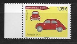 Andorre 2019 - Renault 4CV ** - French Andorra
