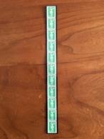ROULETTE DE 11 MARIANNES DE BRIAT VERTE 2,70F - Y&T 3008 Et 3008a (numéro Rouge) - 1996 - Neuf ** - Roulettes