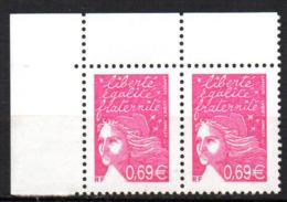 Col12 France Variété Marianne Luquet  N° 3454 / 3433  Barre Pho Brisées Case 1 & 2  Neuf XX MNH Luxe - Variétés Et Curiosités