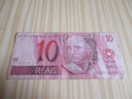 Brésil.Billet 10 Réais. - Brazil
