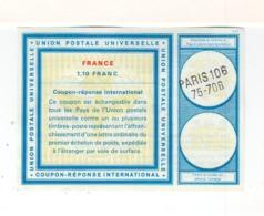 Coupon Réponse International C22. France Paris 106 75-706. (2492x) - Postal Stamped Stationery