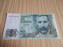 Espagne.Billet 1000 Pesetas 23/10/1979. - [ 4] 1975-… : Juan Carlos I