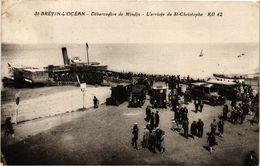 CPA St-BRÉVIN-l'OCÉAN - Debarcadere De Mindin - L'arrivée Du St-... (242347) - Saint-Brevin-l'Océan