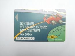 Télécarte Privée , 50U , Colas   , Sans Puce , Visuel De La En390 - France