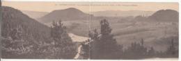 88 - Bruyères-en-vosges - Vue Panoramique Prise De Fouchon - Carte Double - Rambervillers