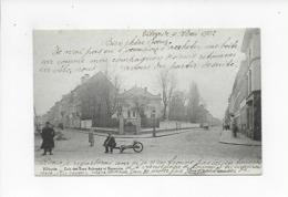 VILVOORDE 1902  VILVORDE  COIN DES RUES AUBREME ET HARMONIE - Vilvoorde