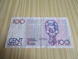 Belgique.Billet 100 Francs. - [ 2] 1831-... : Royaume De Belgique