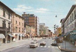 CECINA - LIVORNO - CORSO MATTEOTTI - INSEGNA PUBBLICITARIA BIRRA PERONI - AUTO - 1972 - Livorno