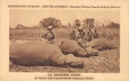 Oubangui-Chari Expédition Citroën Chasse Hippopotame - Centrafricaine (République)