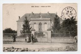 - CPA CHIZÉ (79) - Hôtel De Ville 1906 (avec Personnages) - Edition Alix 334 - - Sonstige Gemeinden