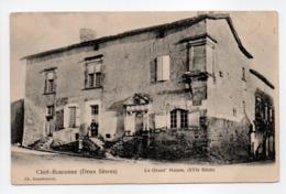 - CPA CHEF-BOUTONNE (79) - La Grand' Maison - Edition Arambourou - - Chef Boutonne