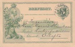 Suède Entier Postal Illustré 1905 - Postal Stationery