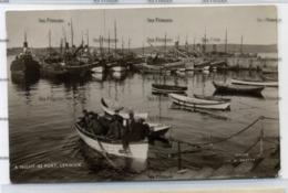 Shetland JD Rattar Postcard A Night In Port Lerwick Fishermen In Wee Boat Heading To Drifters - Nibble Bottom Right - Shetland