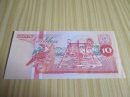 Surinam.Billet 10 Gulden. - Surinam