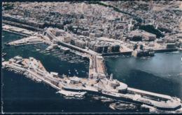 POSTAL ARGELIA - ALGER - VUE PANORAMIQUE DE LA VILLE ET DU PORT - CLICHE I G N - EDITION JOMONE 35 - Algiers