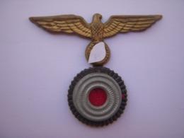 Aigle Métal Allemand WW2 (casquette ,calot ?) Original - 1939-45