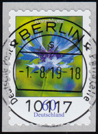 3481 Kornblume 60 Cent Sk Aus 2000er Mit GERADER Nummer, ET-O 1.8.19 - BRD