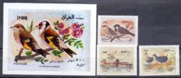 2000 IRAQ Complete Set 3 Values +1 Souvenir Sheets MNH S.G.No.2084-2086 - Iraq