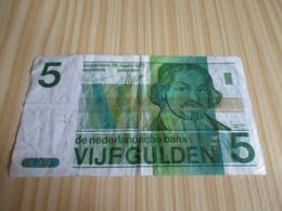 Pays-Bas.Billet 5 Gulden 28/03/1973. - [2] 1815-… : Kingdom Of The Netherlands