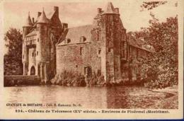 56 CAMPENEAC Château De Trécesson XVe Siècle - Francia