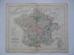 VIEUX PAPIERS - CARTE : Planche 8 Extraite Du Petit Atlas Universel De Géographie Moderne Par M. Achille MEISSAS - Mapas Geográficas