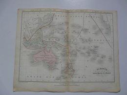 VIEUX PAPIERS - CARTE : Planche 7 Extraite Du Petit Atlas Universel De Géographie Moderne Par M. Achille MEISSAS - Cartes Géographiques