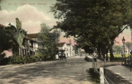 Straits Settlements, Malay Malaysia, PENANG, Light Street (1910s) Postcard - Malaysia