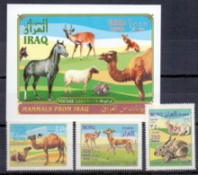 2001 IRAQ Complete Set 3 Values +1 Souvenir Sheets MNH S.G.No.2117-2119 - Irak