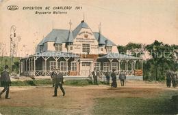 43500839 Charleroi Exposition De Charleroi 1911 Brasserie Wallonne Charleroi - Chimay