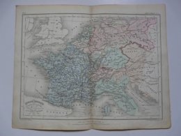 VIEUX PAPIERS - CARTE : Planche 3 Extraite Du Petit Atlas Universel De Géographie Moderne Par M. Achille MEISSAS - Cartes Géographiques