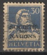 Schweiz Völkerbund (SDN) 19 O - Dienstpost