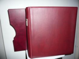 ALBUM LINDNER  + ETUI + FEUILLES LINDNER T SUISSE 2008/14 - Albums & Reliures