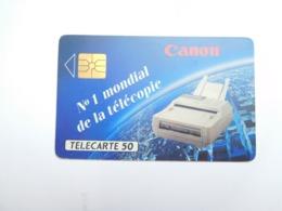 Télécarte Privée , 50U , Canon Télécopie , D589 - Frankreich