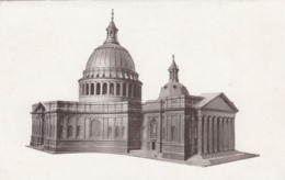 Postcard St Paul's Cathedral London Model For Design Accepted In 1670 By Christopher Wren Later Rejected My Ref  B13687 - Churches & Cathedrals