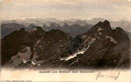 Aussicht Von Altmann Nach Südwesten (2053) - AI Appenzell Innerrhoden