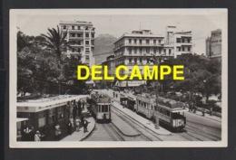 DD / ALGÉRIE / ORAN / PLACE DU MARÉCHAL FOCH ET LA STATION DES TRAMWAYS / 1947 - Oran
