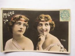 MIERIS     -  DOUBLE   PORTRAIT      ....    PHOTO REUTLINGER           TTB - Entertainers