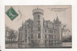 Les Trois Moutiers Chateau De La Motte Chandeniers Cote Sud Est - Les Trois Moutiers
