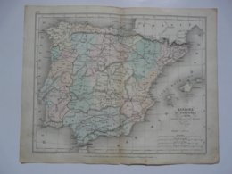 VIEUX PAPIERS - CARTE : Planche 11 Extraite Du Petit Atlas Universel De Géographie Moderne Par M. Achille MEISSAS - Mapas Geográficas