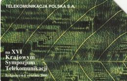 POLONIA. XVI National Telecommunication Symposy- Bydgoszcz. 50U. 944. (212) - Polonia