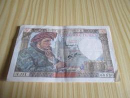 France.Billet 50 Francs Jacques Coeur 18/12/1941. - 1871-1952 Antiguos Francos Circulantes En El XX Siglo